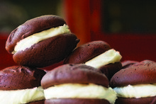 Whoopie pies deserve their name. Photo / Supplied 
